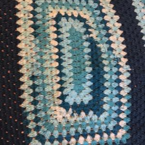 Accessories - Mint and turquoise baby blanket